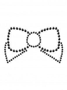 Bijoux Indiscrets Mimi Bow: Nippelsticker, schwarz