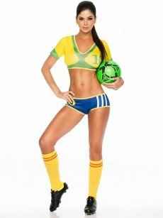 Espiral Kostümset: Samba Champion