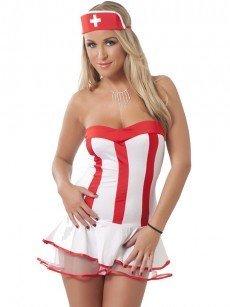 Krankenschwestern-Uniform, 3-tlg.