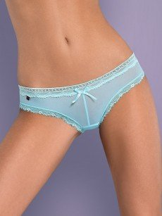 Obsessive Corella: Panty, blau