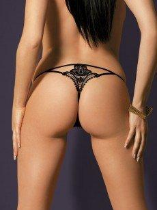 Obsessive Luiza: String, schwarz