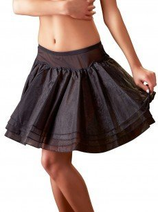 Tüll-Petticoat, schwarz