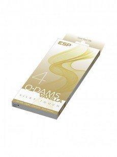 ESP O Dams Vanilla Silky Touch: Latextücher, 4er Pack