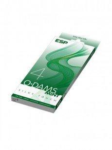 ESP O Dams Mint Silky Touch: Latextücher, 4er Pack