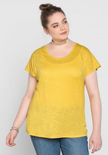 sheego Basic Oversize-Shirt