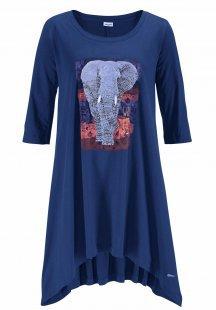 Marie Claire Nachthemd mit exotischem Frontprint