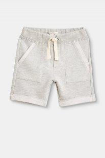 ESPRIT Jersey-Jogger-Shorts mit Inside-Out-Details