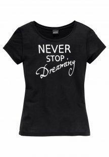 Arizona T-Shirt, mit Schrift-Frontdruck