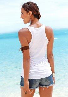 s.Oliver RED LABEL Beachwear Top mit Frontprint