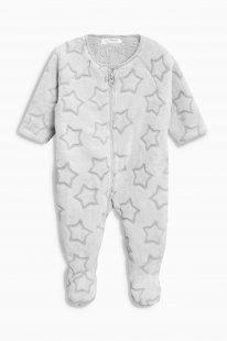 Next Weicher Fleece-Schlafanzug mit Stern