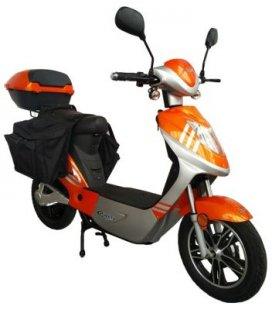 Rolektro eco-City 45 V.2 PLUS Orange/ Silber