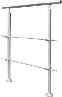 Home Deluxe Treppengeländer mit Querstrebe, 200x102,5cm