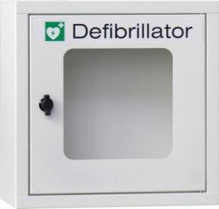Gaptac Defibrillatoren Stahl-Wandschrank mit Alarmeinheit 105 dB