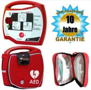 Progetti Rescue SAM AED Halbautomat mit Funktionstasche, 10 Jahre Hersteller-Garantie