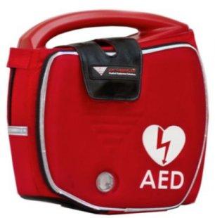 Progetti Rescue SAM AED Vollautomat mit Funktionstasche und Wandhalterung, 5 Jahre Hersteller-Garantie