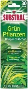 Substral Dünger-Stäbchen für Grünpflanzen - 30 Stück
