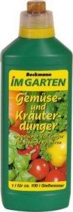 Beckmann Gemüse und Kräuterdünger 1 L
