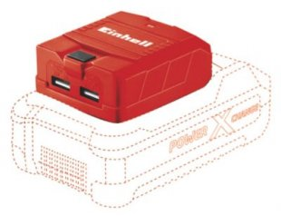 Einhell TE-CP 18 Li - Solo Akku-USB-Adapter Power X-Change