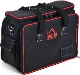 HOMCOM Werkzeugtasche mit Schultergurt