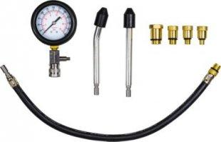 JOM Kompressionstester Kompressionsprüfer für Benziner, PKW/LKW