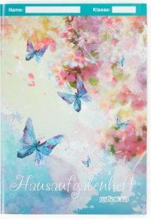 Hausaufgabenheft - Schmetterlinge