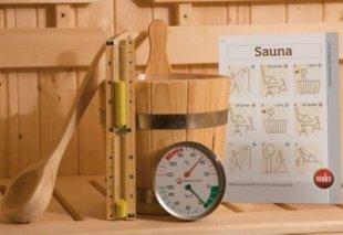 Weka Sauna-Zubehör-Set 5-teilig