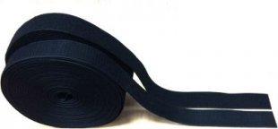 Klettband 50mm - 5 Meter - Schwarz