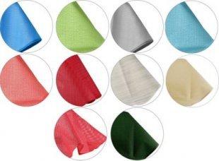 FRIEDOLA Runde Gartentischdecke aus Weichschaummaterial, Ø 130 und 160 cm, verschiedene Farben