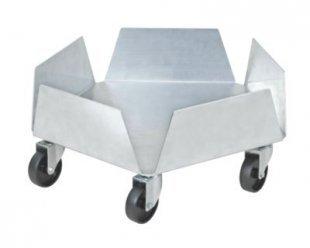 BRB Blumentopfroller / Tonnenroller aus Aluminium