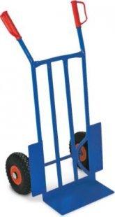 BRB Stahlrohrkarre 250 Kg mit Stahlblechffelge - TÜV/GS geprüft