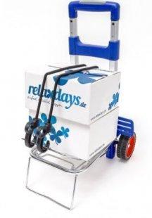 relaxdays Transport Trolley klappbar für 30 kg
