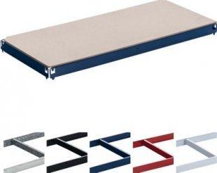 Einlegeboden / Regal-Boden für Schwerlastregal / Lagerregal 90 x 40 cm, verzinkt, Tragkraft 175 kg, Farbe wählbar