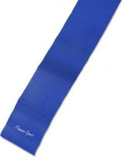 Strapazierfähiges Gymnastikband, 2,5m x 15cm, 0,55 mm dicke, blau