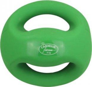 Carnegie 5kg Ball Medizinball mit Griffen Fitnessball Gewichtsball Krafttraining