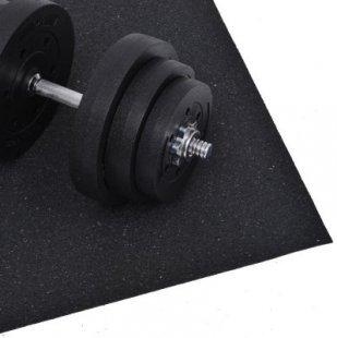 HOMCOM Bodenschutzmatte für Fitnessgeräte