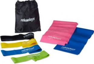 relaxdays Fitnessbänder Set