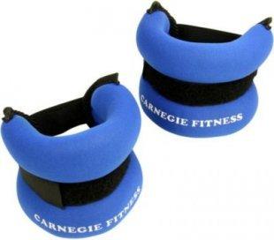Carnegie Neopren Gewichtsmanschette 2x 500g Handgelenk Fußgelenk Manschette, Laufgewicht mit Klettverschluß