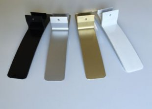 Könighaus AS Standfuß für M-Serie Aluminium, schwarz