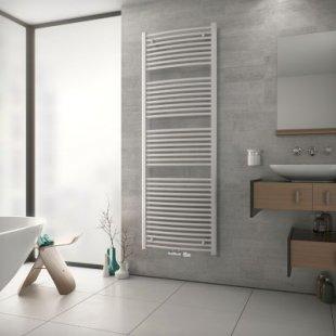 Ximax TOP Designheizkörper B 59,5 x H 117,2 x T 5,2 cm weiß mit 5 cm MA