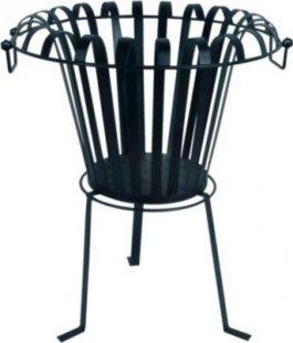 Feuerkorb, Feuerschale &acuteHeat&acute BxH 44x53 cm aus Metall