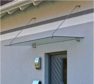 Home Deluxe Glasvordach, 200x90cm