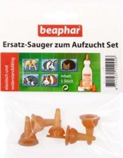 Beaphar - Ersatz-Sauger zum Aufzucht Set - 5 Stück