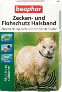 Beaphar - Zecken- und Flohschutz Halsband für Katzen