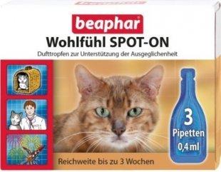 Beaphar - Wohlfühl SPOT-ON für Katzen - 3 x 0,4 ml