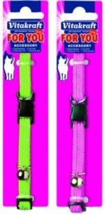 Nylon Katzenhalsband elastisch und reflektierend