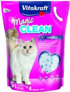 Vitakraft Katzenstreu Magic Clean Lavendel - 5 Liter