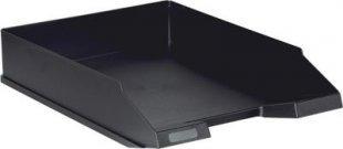 Herlitz Herlitz Ablagekorb A4 aus Kunststoff, classic schwarz (1 Stück)