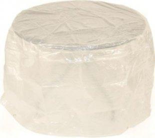 gartenmoebel-einkauf Abdeckhaube Tisch 100x70cm rund, PE transparent