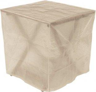 gartenmoebel-einkauf Abdeckhaube Tisch 70x70x70cm eckig, PE transparent