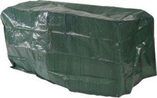 heute-wohnen Abdeckhaube Schutzplane Hülle Regenschutz für Gartenbänke, 140x70x89cm